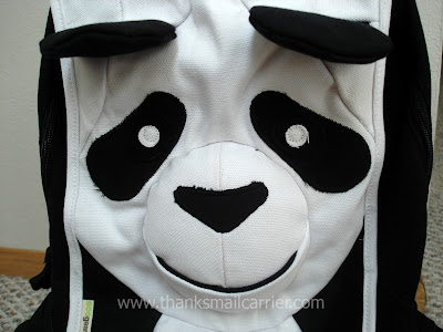 EcoZoo panda backpack
