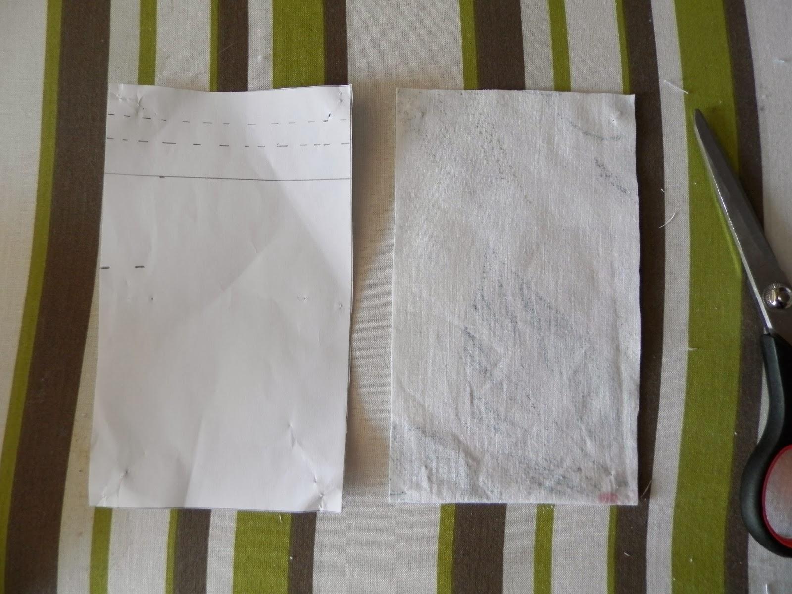 Coton et Création : tuto pochon en tissu