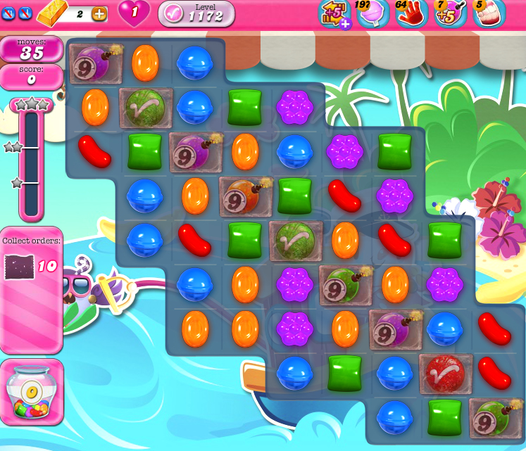 Candy Crush Saga 1172