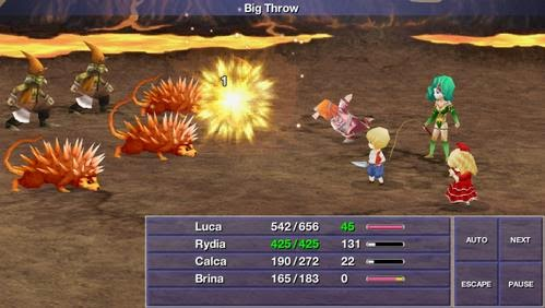 Gameplay Final Fantasy IV