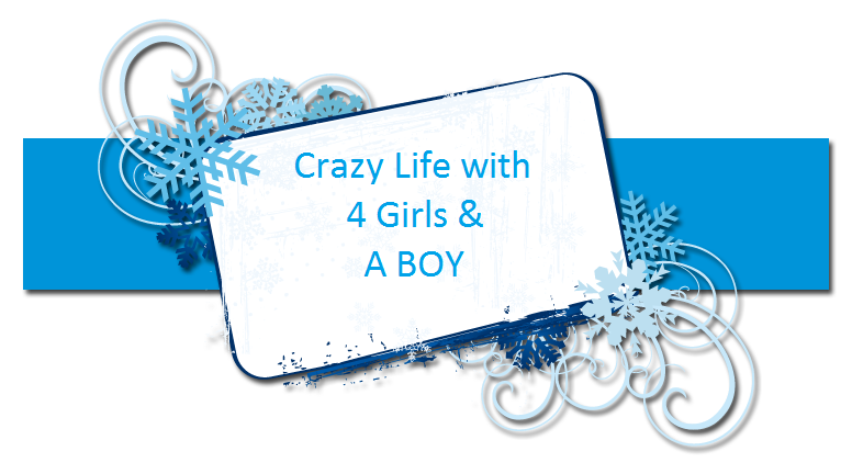 Crazy Life with 4 Girls & A BOY
