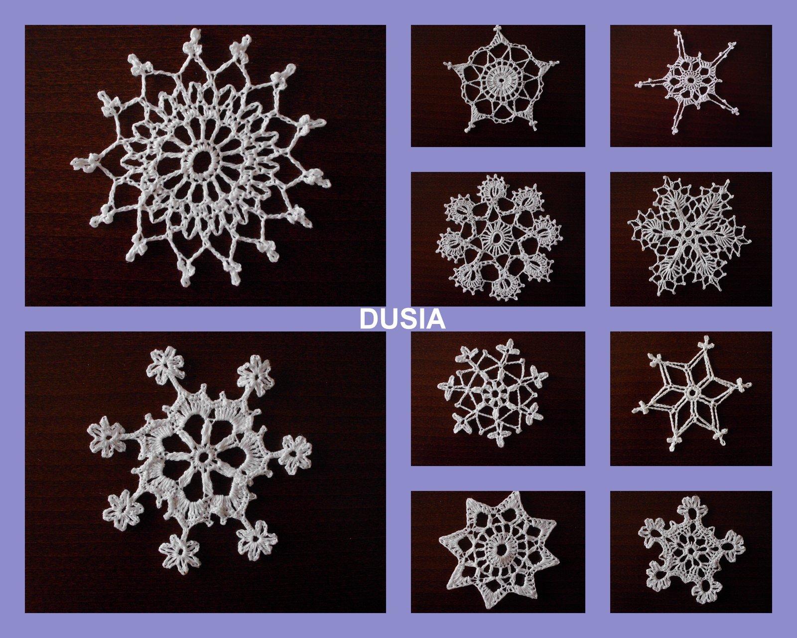 Gwiazdeczki-śnieżynki