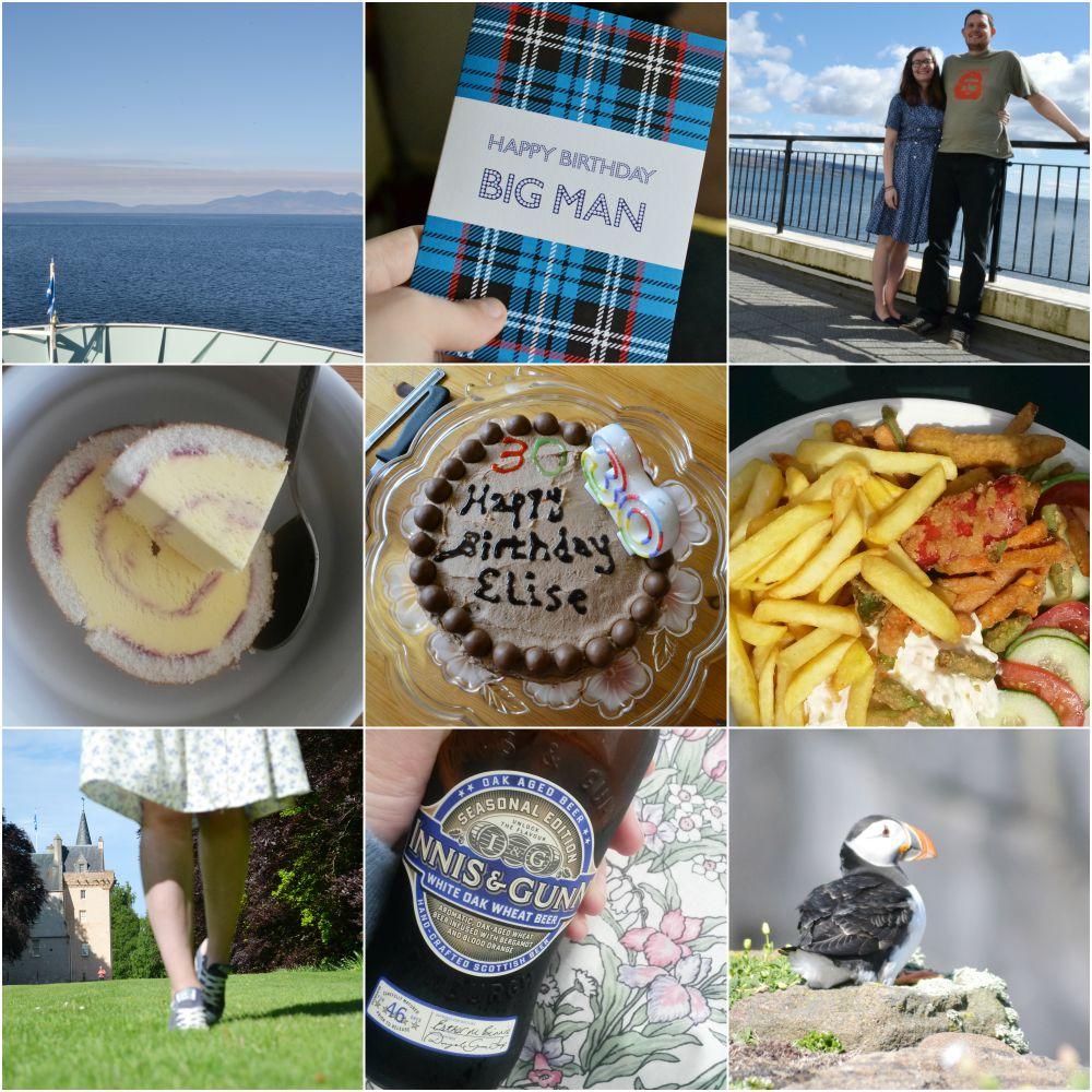 summer scotland birthday