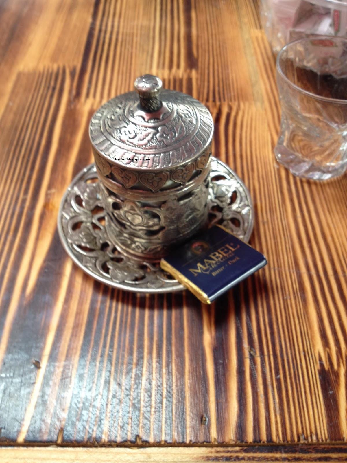 turk kahvesi, mabel cikolota