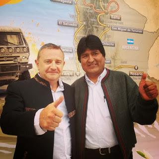 Bolivia y la planificacion del dakar 2015