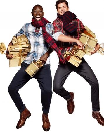H&M ropa hombre campana Navidad