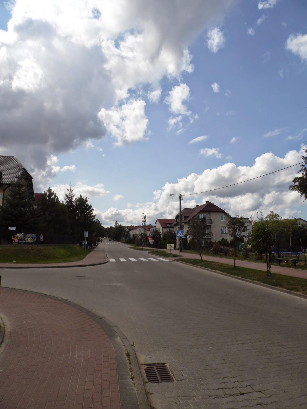 Ostrowo - część zachodnia miejscowości