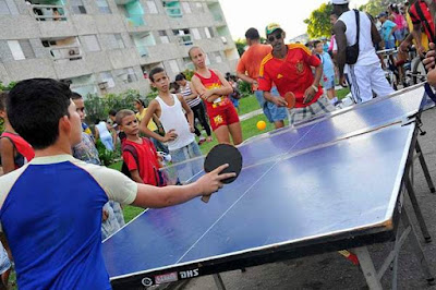 Actividades recreativas en Cuba