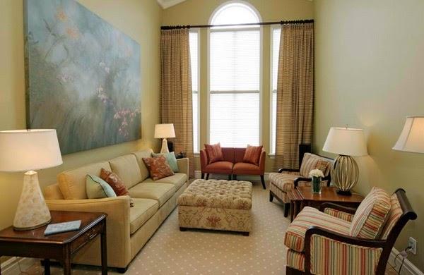 Dekorasi ruang tamu kecil 4
