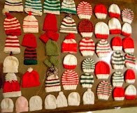 Newborn Holiday Hats