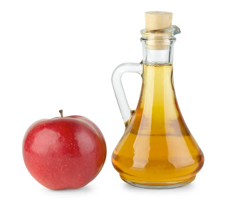 Apple cider vinegar contains acetic acid.
