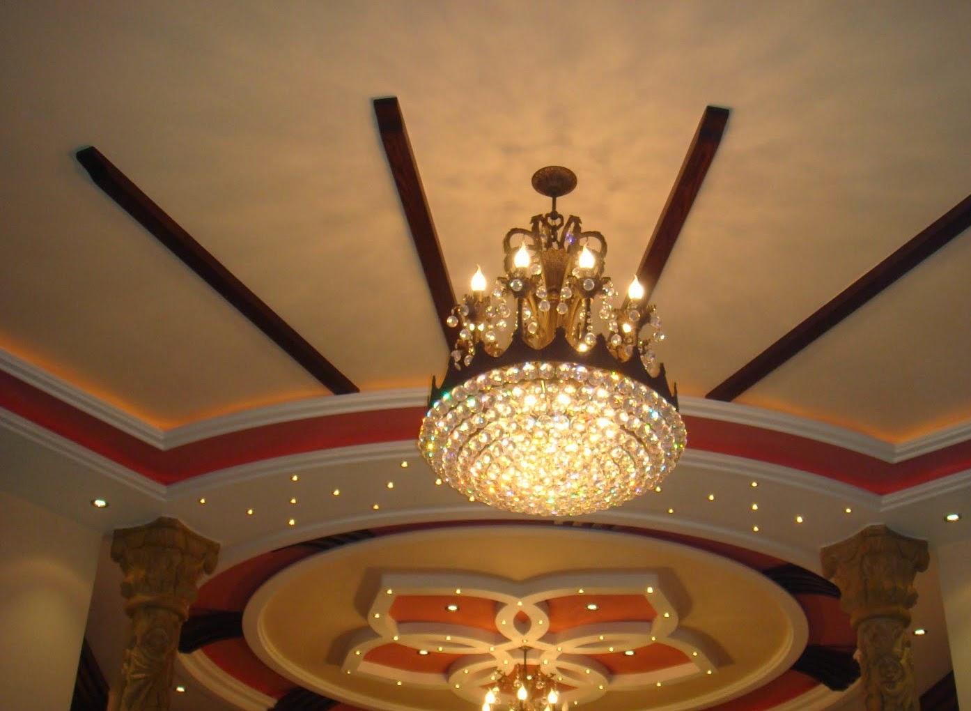 Salons du maroc et d coration orientale la d coration de for Modele plafond maison