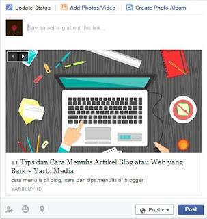 13 Cara Efektif Mempromosikan Blog di Facebook