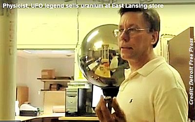 Physicist, UFO Legend Bob Lazar