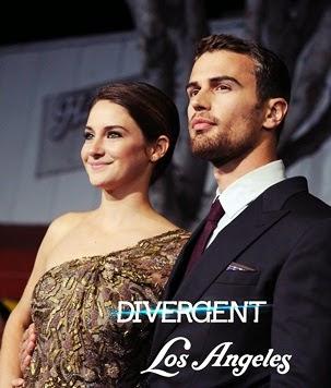 Premiera Divergent in L.A.