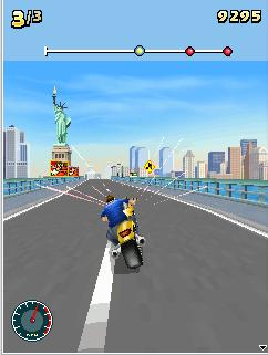 Lấy vật phẩm Moto Racing Fever 3D