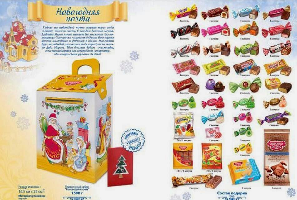 Не сладкие новогодние подарки 2016 каталог