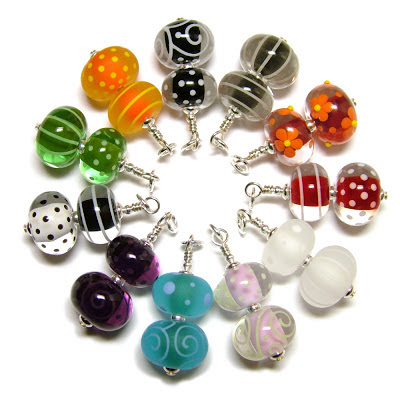 Lampwork Glass Pendants