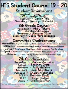 Student Council 19-20