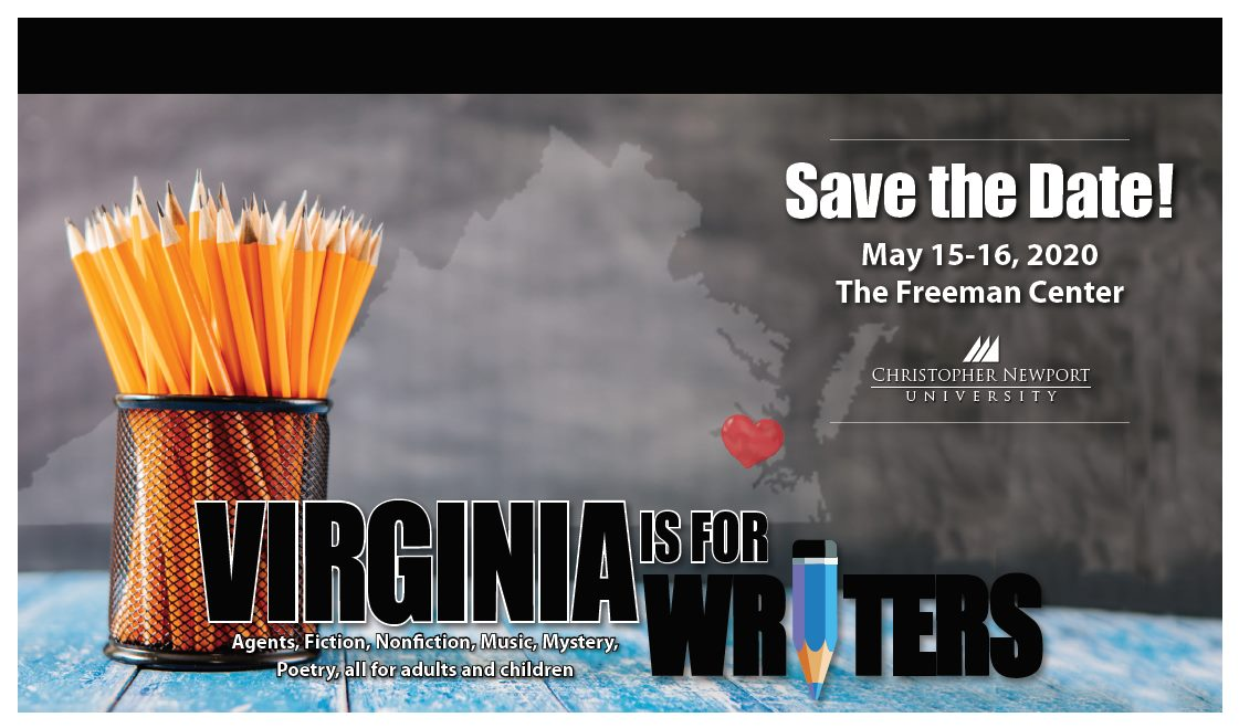 Save The Date:  CNU Writers Conference