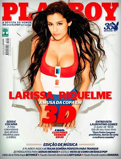 Larissa Riquelme pelada