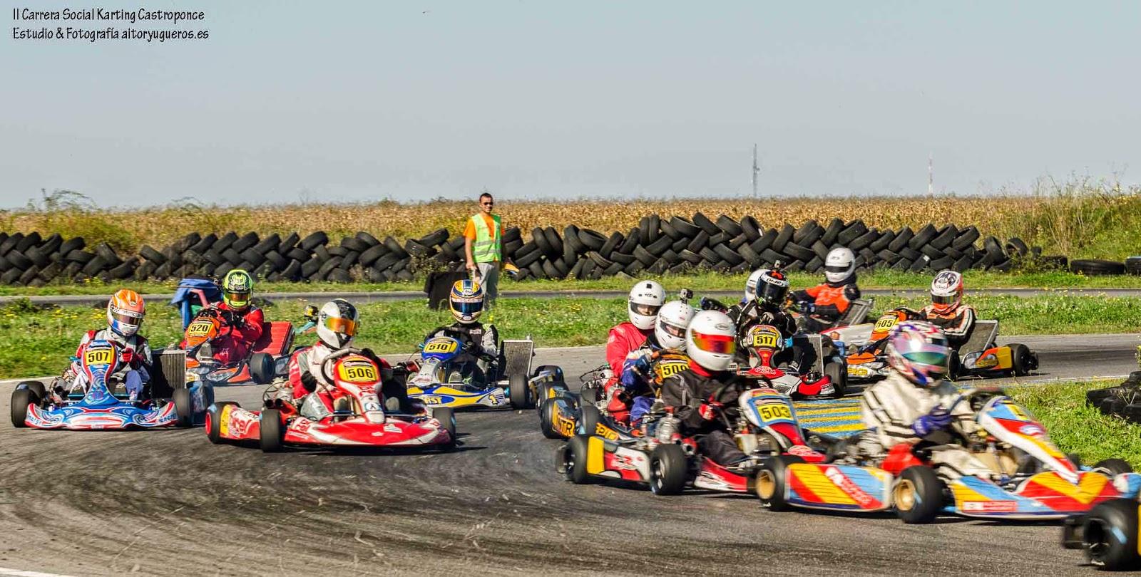 Circuito Karting : Cronica 2 carrera social circuito karting castroponce