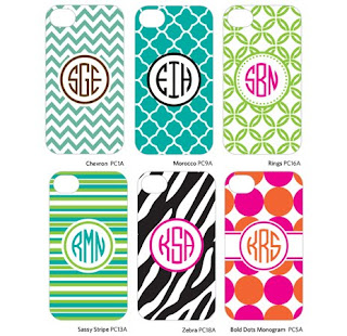 personalized initial name monogram iphone cases on good morning america and usa today show
