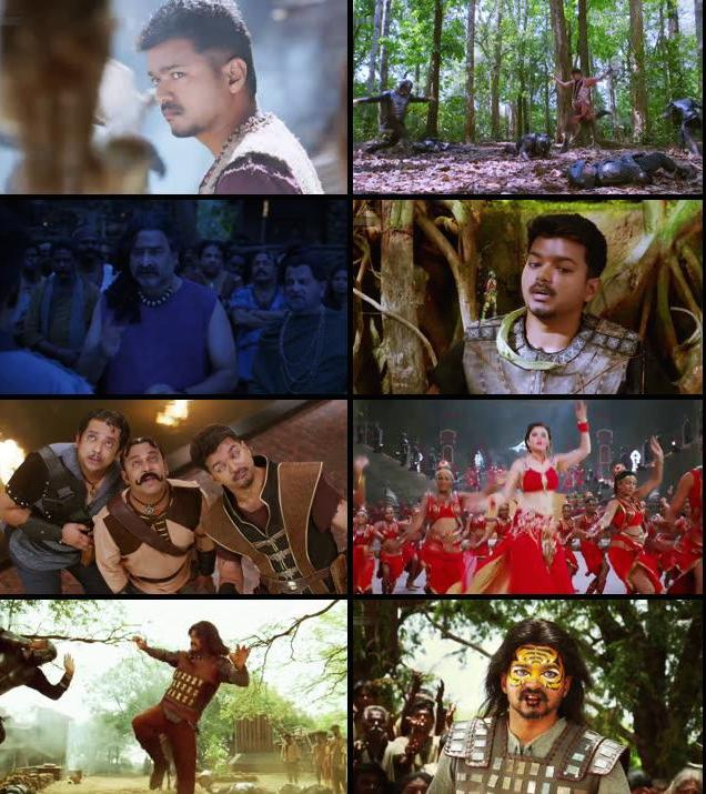 Puli 2015 Hindi Dubbed 720p WEB HDRip