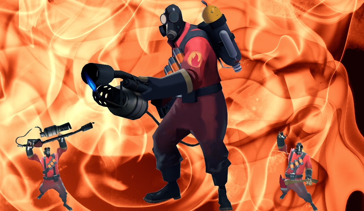 Team Fortress 2, Pyro
