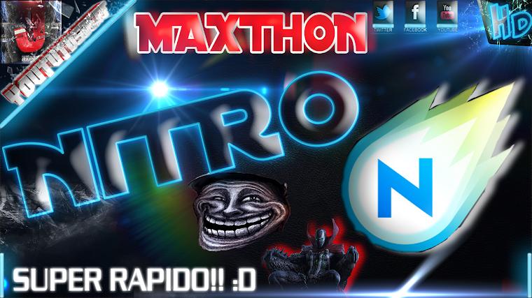 MAXTHON NITRO EL NAVEGADOR MAS RAPIDO DEL MUNDO   2015
