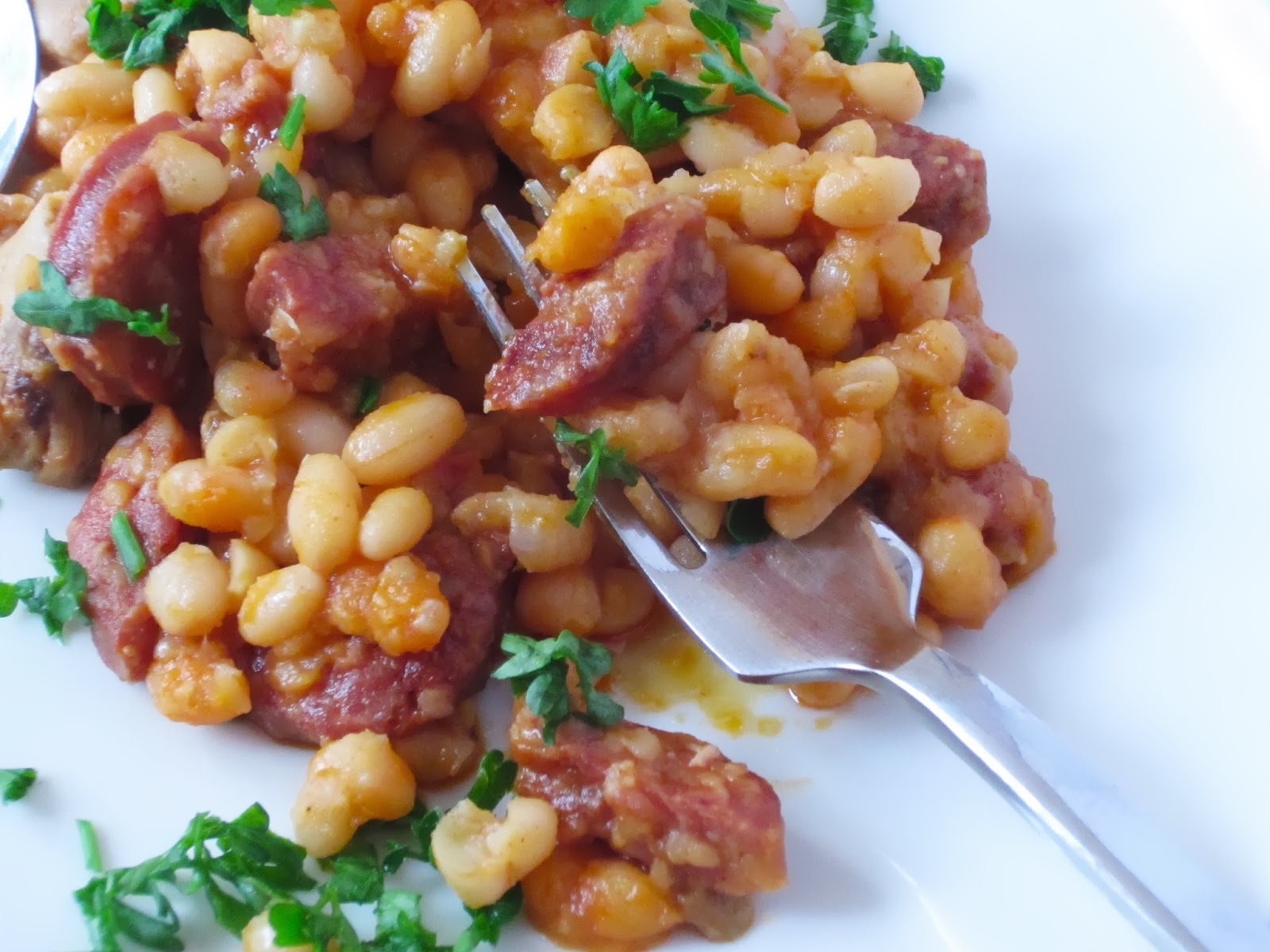 cassoulet with sausage and bean s chorizo and gigante bean cassoulet ...