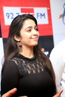 Charmi Pictures in Black Dress at Margadarsi Big Telugu Entertainment Awards Launch | ~ Bollywood and South Indian Cinema Actress Exclusive Picture Galleries