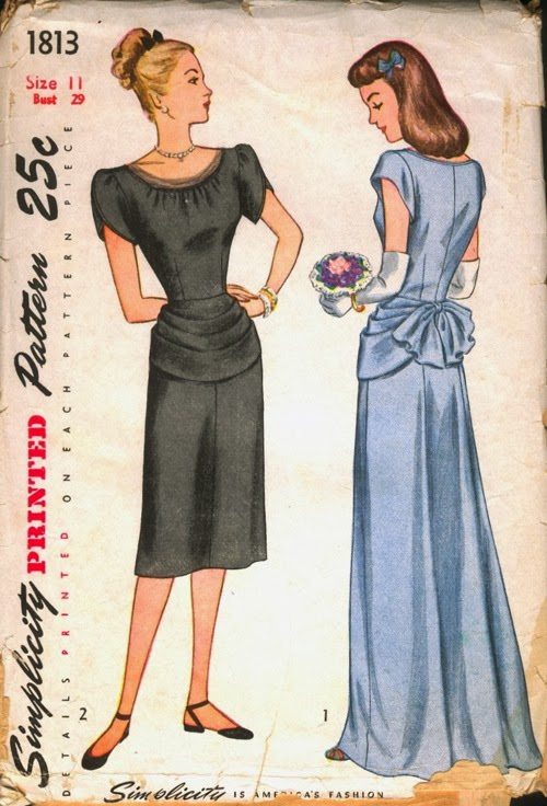 Flashback Summer:  Love {For a 1940s Dress} Comes Softly - Asian India novelty print, teal, fuschia, lime, pink, purple, plum