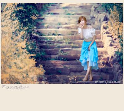 9 Choi Byeol Yee-Legs Show Off-very cute asian girl-girlcute4u.blogspot.com
