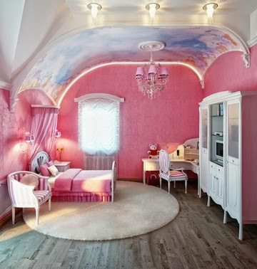 Pink color in the interior | WOMEN TIPSTER