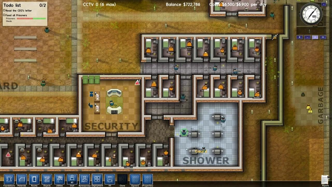 Prison architect all about computer for Jail architect