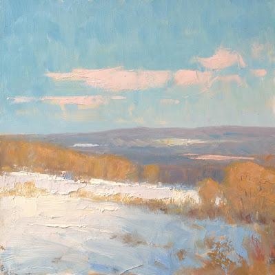 landscape oil painting by steve allrich
