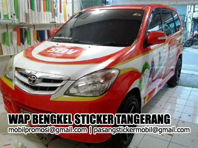 branding sticker mobil avanza full body