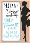 40+ Blogger Meet-Up 2015: