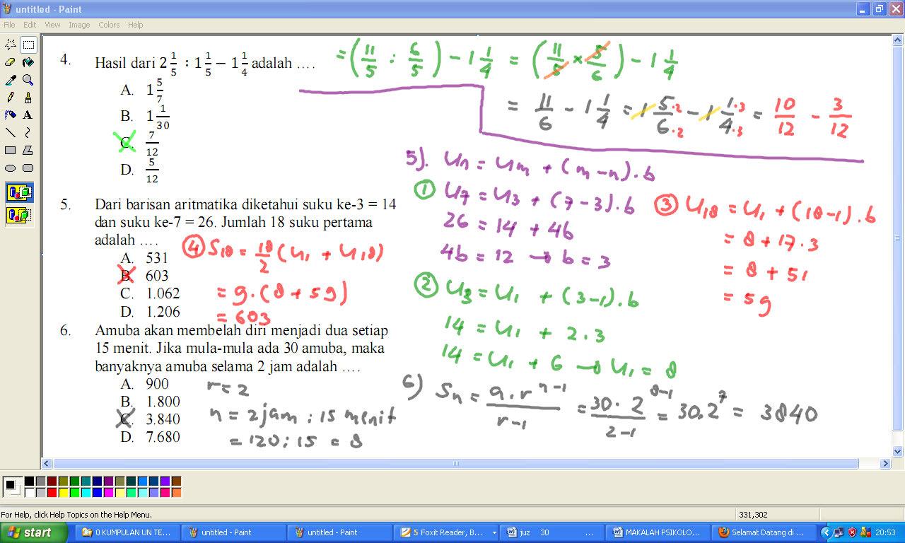 Koeshartati Saptorini Persiapan Un Matematika Smp 2013