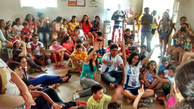 Juventude Missionária realiza Natal em Comunidade Rural de Patos (PB)