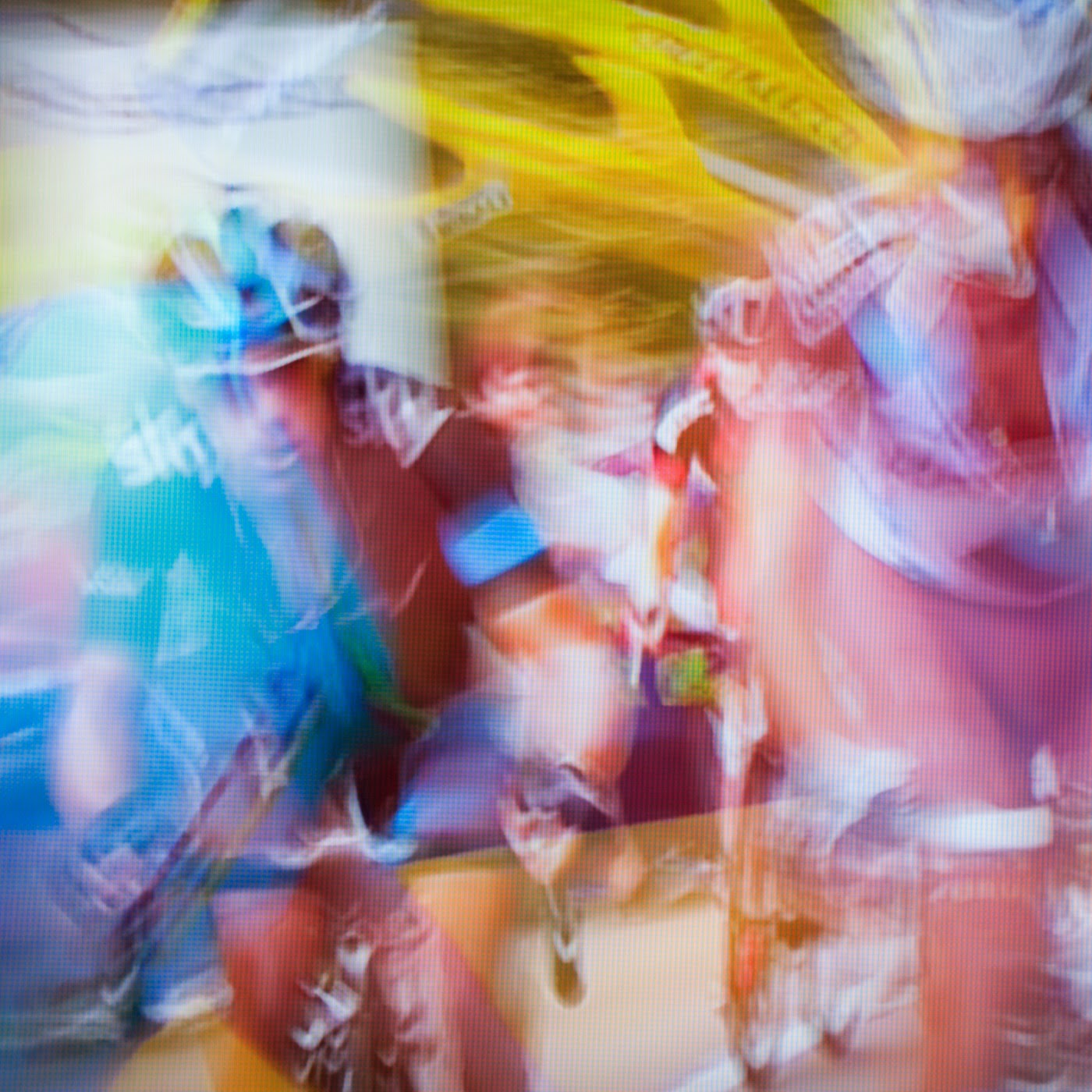 le tour de france, motion blur, blur, abstract, abstraction, tim macauley, photographic art, you won't see this at MoMA, appropriation, found imagery, le tour 2014, tv footage, portrait, timothy Macauley, the light monkey collective, grand cycling tour, richie porte, team sky
