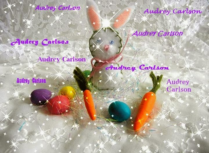Honored to have my Easter Creations on the OOAK EVERYTHING POLYMER CLAY BABY Banner!
