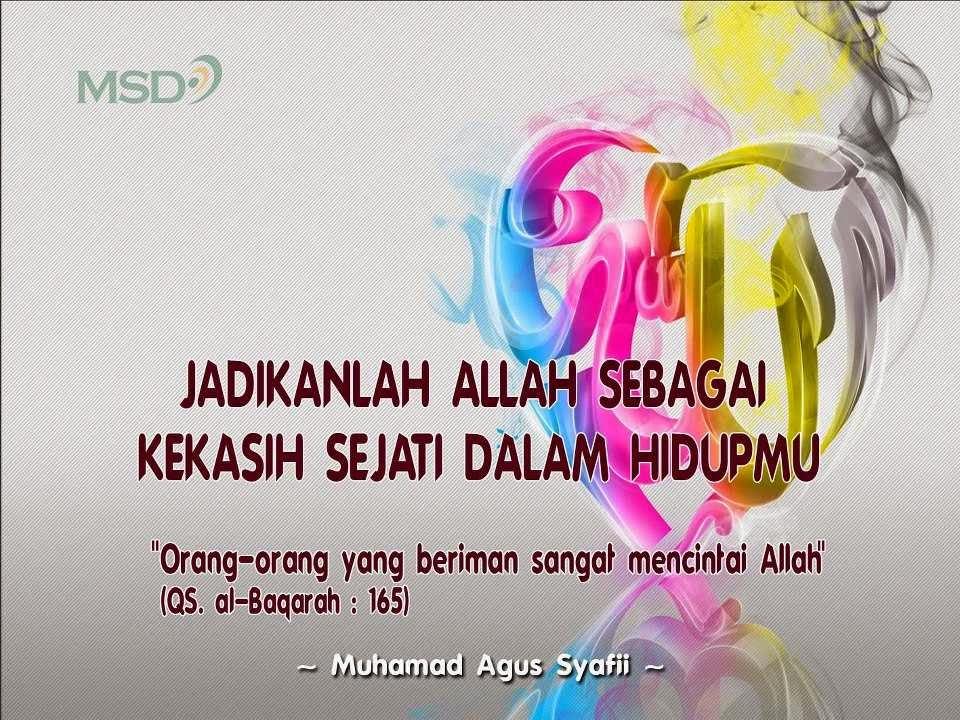 Gambar Kata Mutiara Cinta Islami
