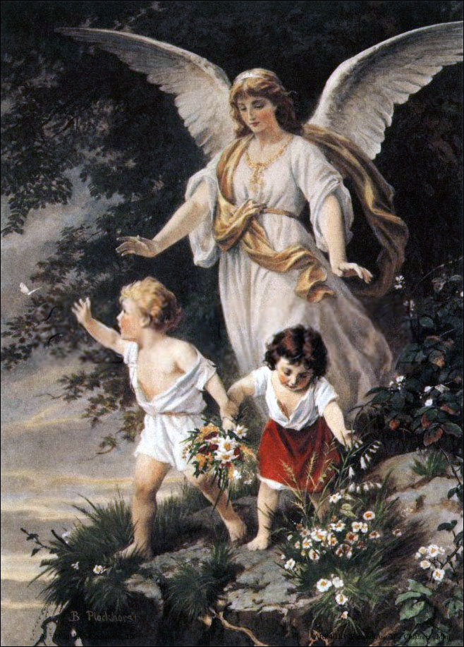 "Sarcastic Art Review Fun Time: ""Guardian"" Angels: Raging ..."