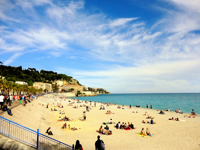 Beach / Plage de Nice, France