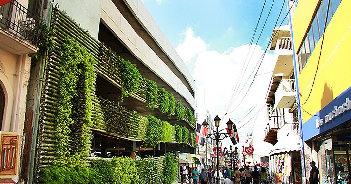 Inauguran jard n vertical calle el conde con apoyo de for Calle el jardin