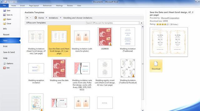Tutorial membuat undangan Dengan Microsoft Word