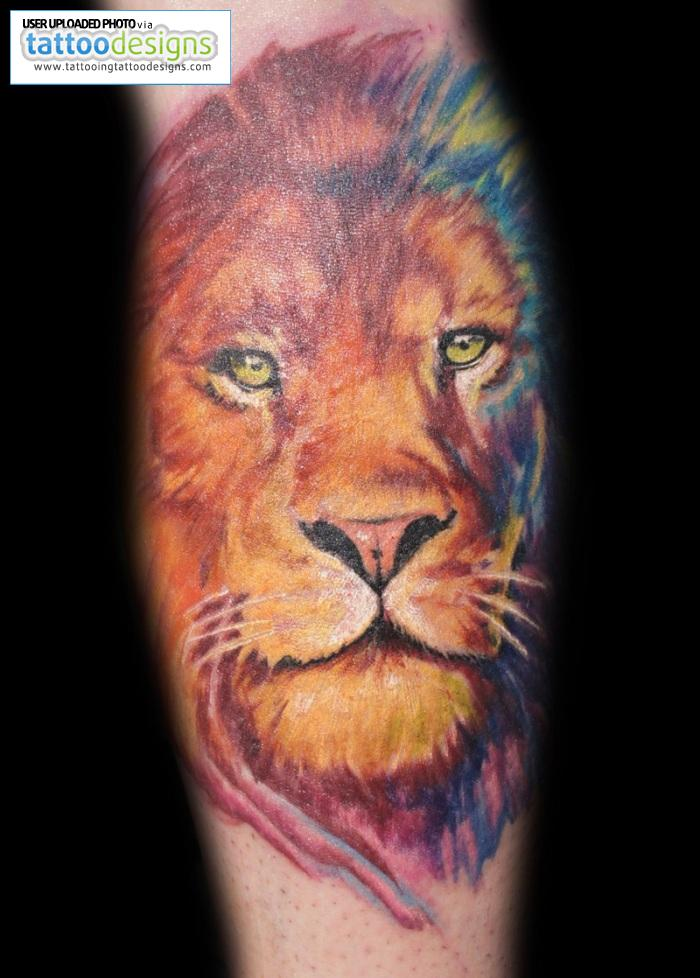 lion tattoos for women beautiful tattoos art. Black Bedroom Furniture Sets. Home Design Ideas