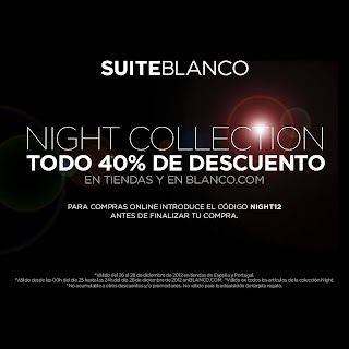 BLANCO DESCUENTO DEL 40% EN NIGHT COLLECTION
